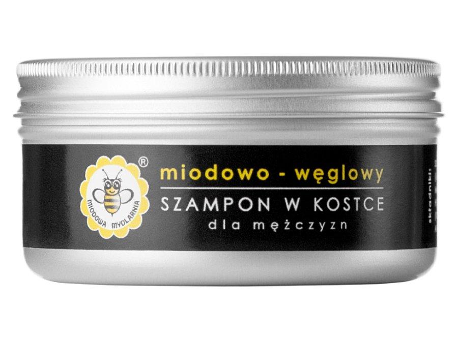 Miodowa Mydlarnia - Szampon doWłosów wKostce - Trawa Cytrynowa