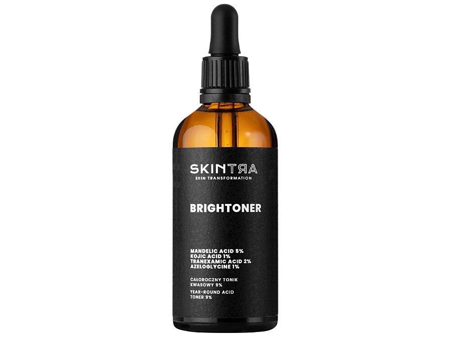 1. SkinTra - Całoroczny tonik kwasowy 9%