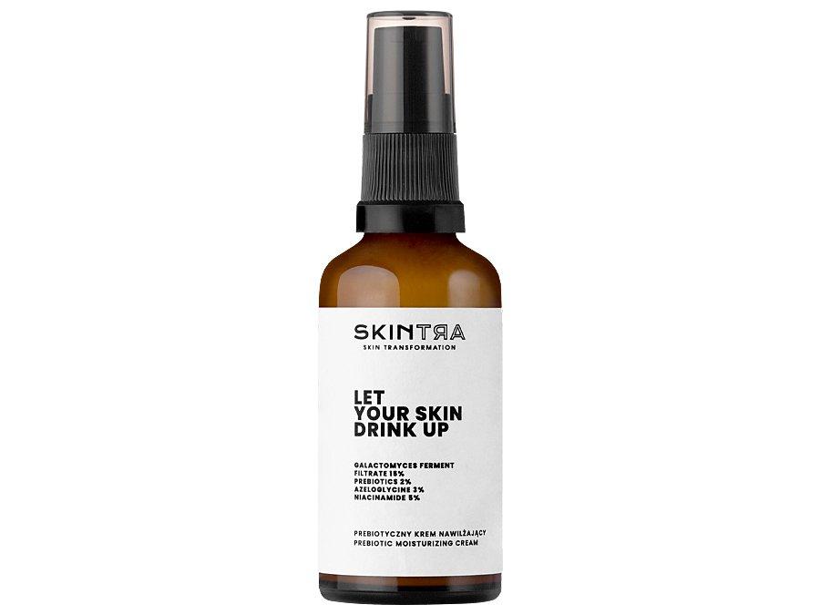 SkinTra - Nawilżający krem dotwarzy zprebiotykami